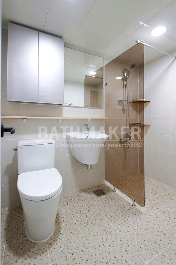 성남시 은행주공아파트 200만원대 테라조 욕실공사하기