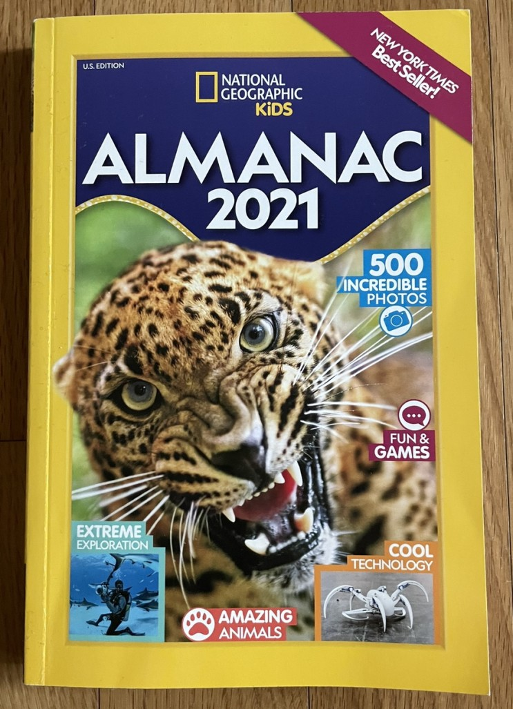 Almanac 2021 National Geographic Kids