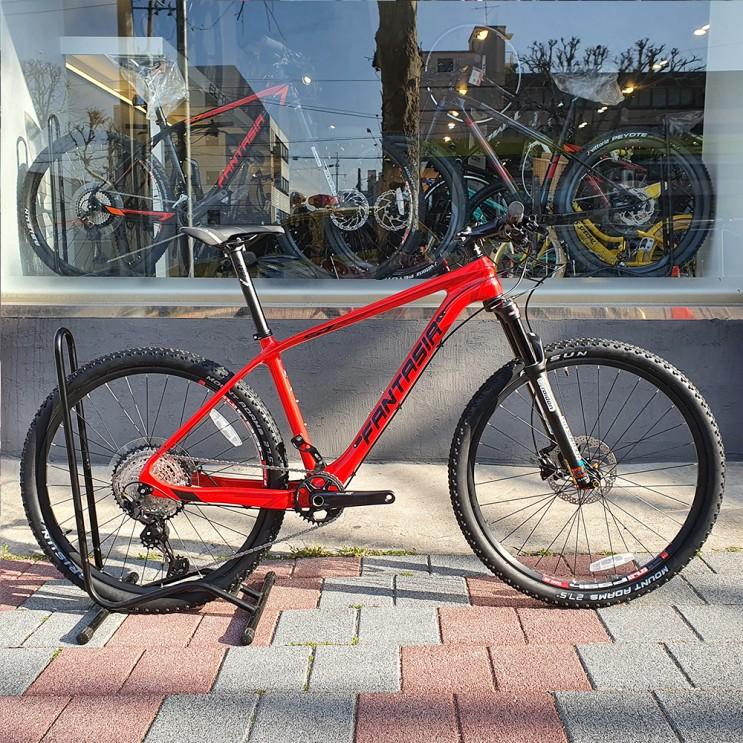 2021년 엘파마 판타시아 S7 8000 카본 XT 12단 24단 MTB 시마노 셀레 환타시아 입문용 중급 출퇴근 가성비 자전거 추천