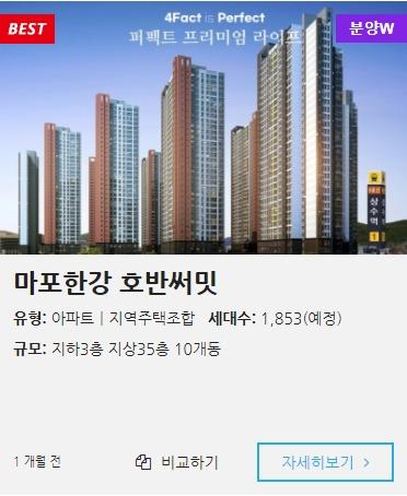 서울 지역주택조합 모음입니다.