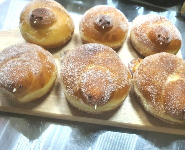 [엄마표 손 반죽] 꽈배기 도넛으로 아기새 빵 도넛 만들기