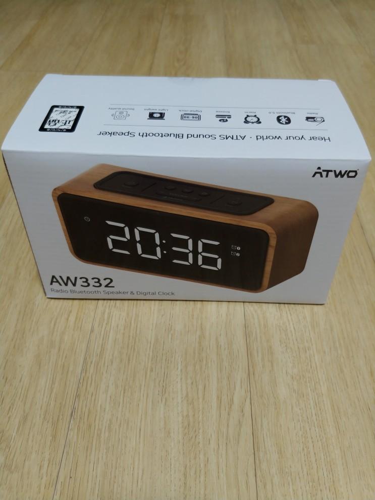 에이투 블루투스 스피커 라디오  AW332 구매 후기