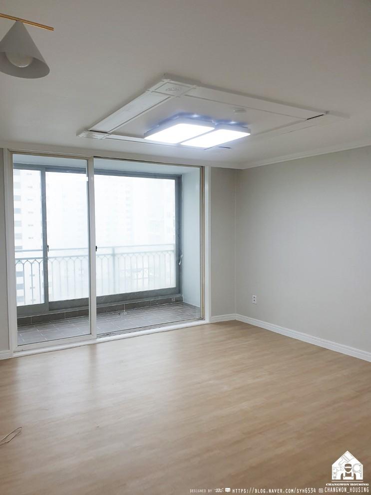 벽산블루밍 창원아파트인테리어는 모던하고 심플한 모습으로 탄생되었습니다!