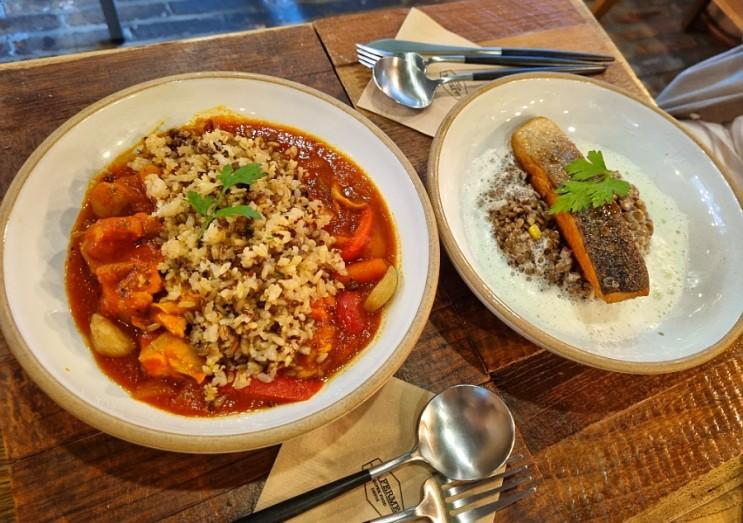 압구정 샐러드 / 라페름 청담점에서 건강한 브런치를